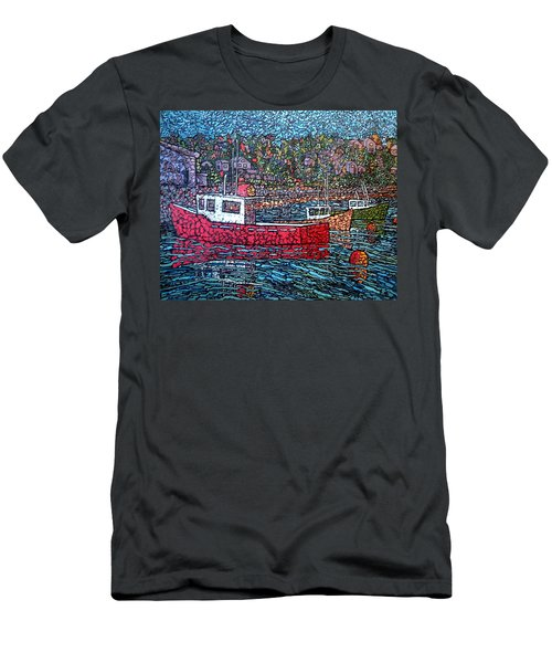 Fishing Boats - Beaver Harbour Men's T-Shirt (Athletic Fit)