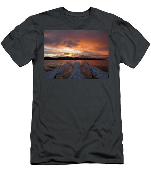 Fishing In The Sun Men's T-Shirt (Athletic Fit)
