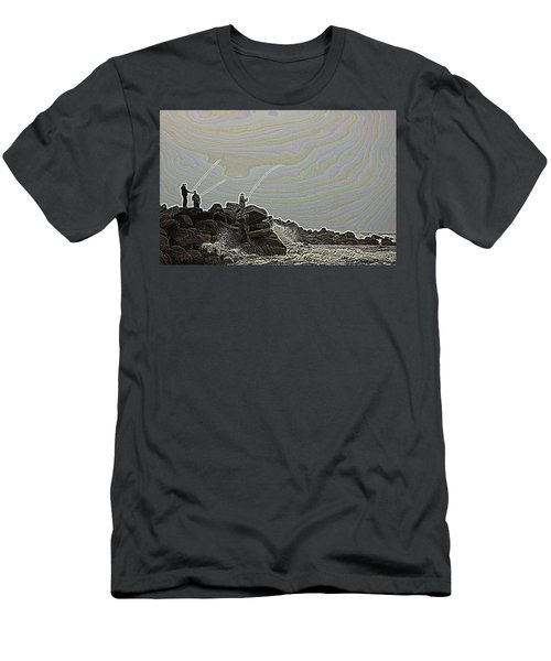 Fishing In The Twilight Zone Men's T-Shirt (Athletic Fit)