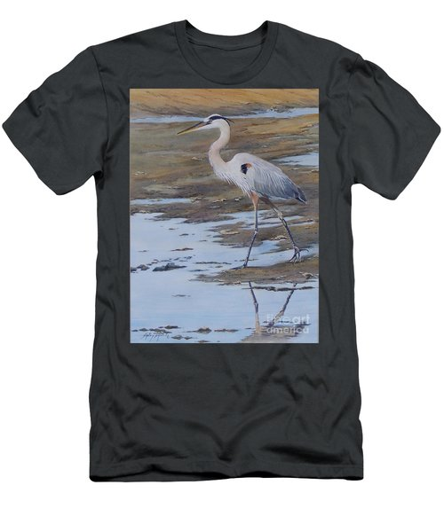 Fishing The Mud Flats...sold  Men's T-Shirt (Athletic Fit)