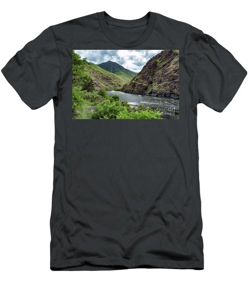 Fishing The Snake Waterscape Art By Kaylyn Franks Men's T-Shirt (Athletic Fit)