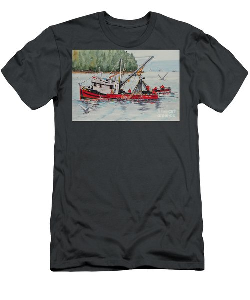 Five Miles Out Of Valdez Men's T-Shirt (Athletic Fit)