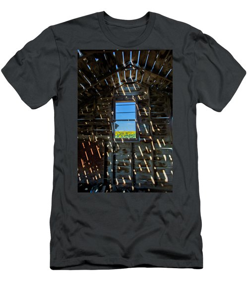 Men's T-Shirt (Slim Fit) featuring the photograph Fixer Upper With A View by Kristal Kraft