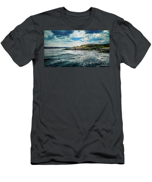 Fjord From The Ferry Men's T-Shirt (Athletic Fit)