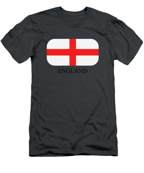 Flag England Men's T-Shirt (Athletic Fit)