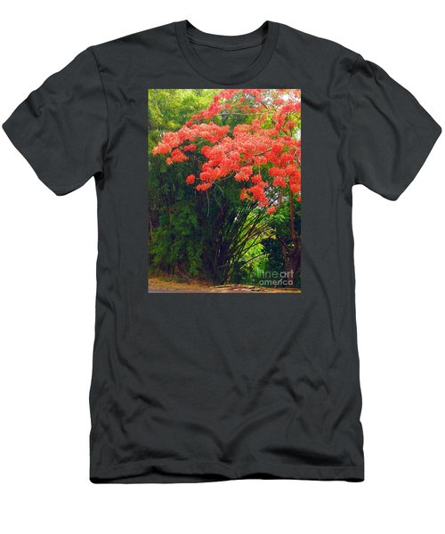 Flamboyant With Bamboo Men's T-Shirt (Athletic Fit)