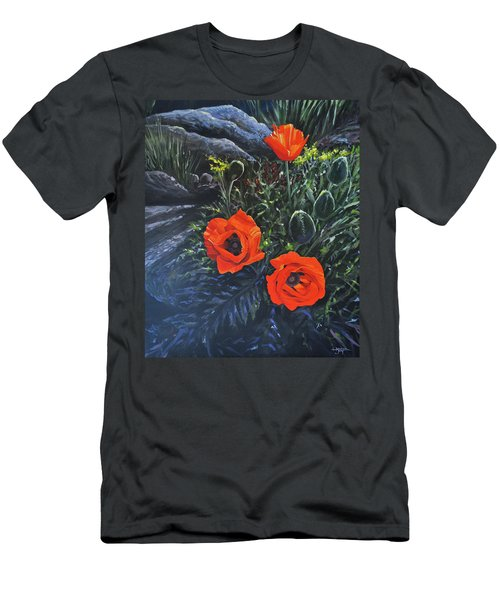 Flame Of The West Men's T-Shirt (Athletic Fit)