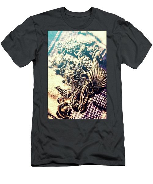 Flares Of Nautical Beauty Men's T-Shirt (Athletic Fit)