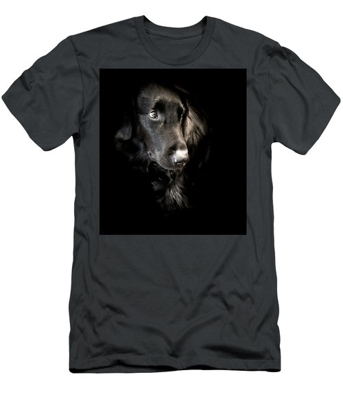 Flat Coated Retriever Men's T-Shirt (Athletic Fit)