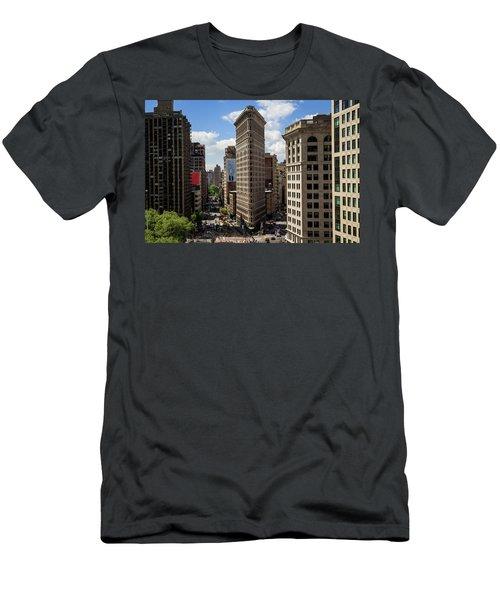 Flat Irion  Men's T-Shirt (Athletic Fit)