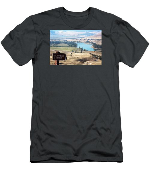 Flathead River 4 Men's T-Shirt (Athletic Fit)