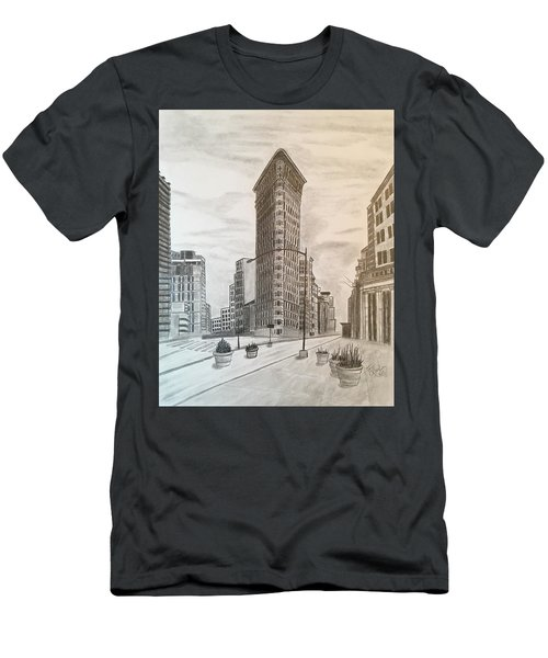 Flatiron Study Men's T-Shirt (Athletic Fit)