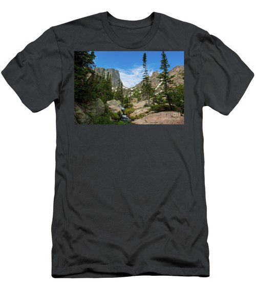 Flattop Mountain Men's T-Shirt (Athletic Fit)