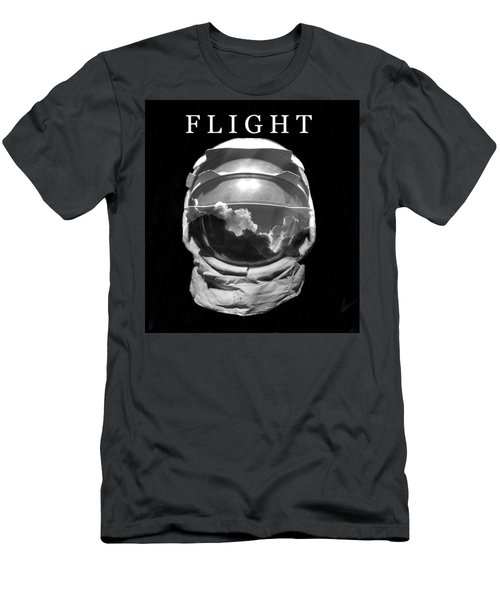 Men's T-Shirt (Slim Fit) featuring the photograph Flight by David Lee Thompson