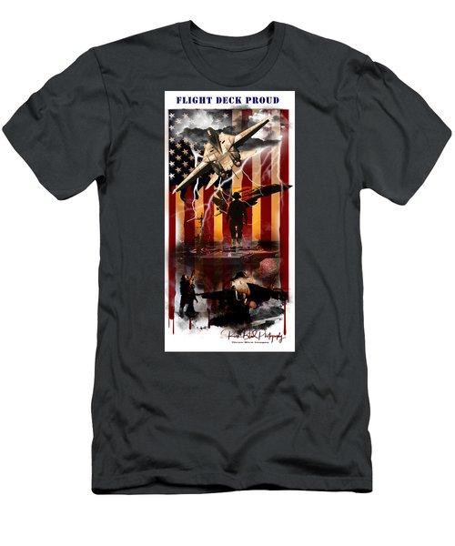 Flight Deck Proud Men's T-Shirt (Athletic Fit)