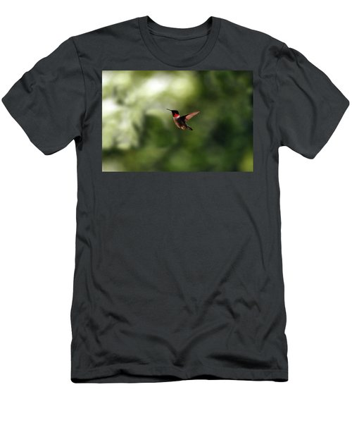 Flight Of The Hummingbird Men's T-Shirt (Athletic Fit)