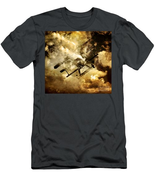 Flight Path Of Disaster Men's T-Shirt (Athletic Fit)