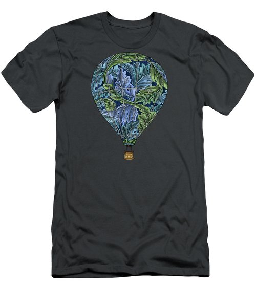 Men's T-Shirt (Slim Fit) featuring the painting Flight Pattern by Meg Shearer