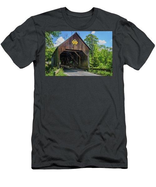 Flint Bridge Men's T-Shirt (Athletic Fit)