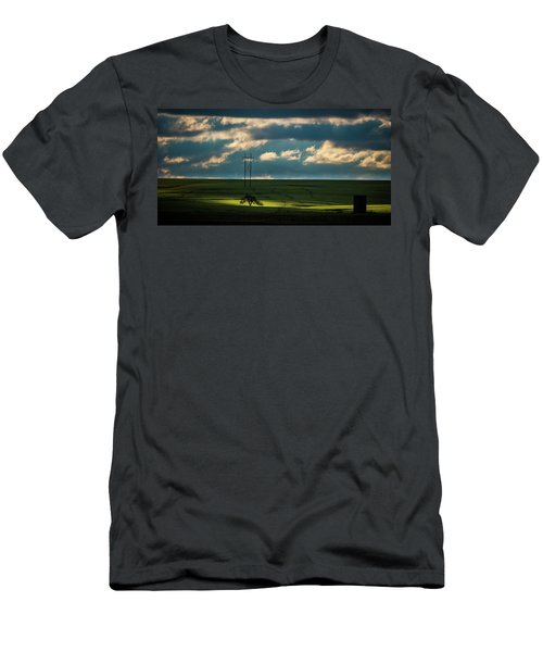 Men's T-Shirt (Athletic Fit) featuring the photograph Flint Hills Power 2 by Jeff Phillippi