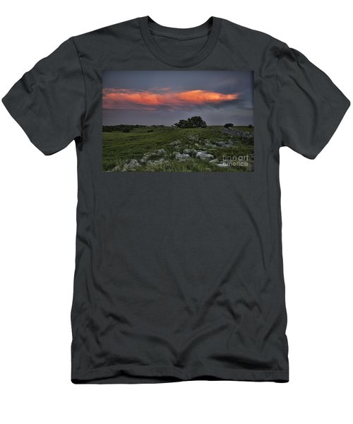 Flinthills Sunset Men's T-Shirt (Athletic Fit)