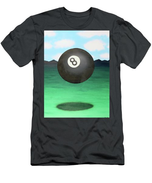 Men's T-Shirt (Slim Fit) featuring the painting Floating 8 by Thomas Blood