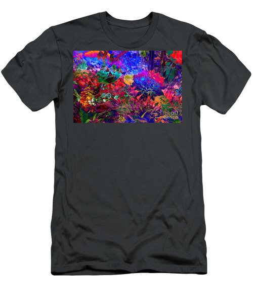 Men's T-Shirt (Athletic Fit) featuring the photograph Floral Dream Of Summer by Silva Wischeropp
