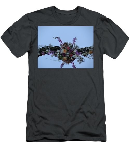 floral love in the Kenyan sky Men's T-Shirt (Athletic Fit)