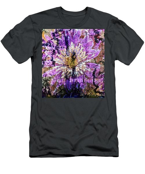 Floral Poetry Of Time Men's T-Shirt (Athletic Fit)
