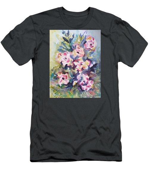 Floral Rhythm Men's T-Shirt (Athletic Fit)