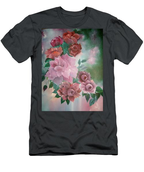 Floral Splendor Men's T-Shirt (Athletic Fit)