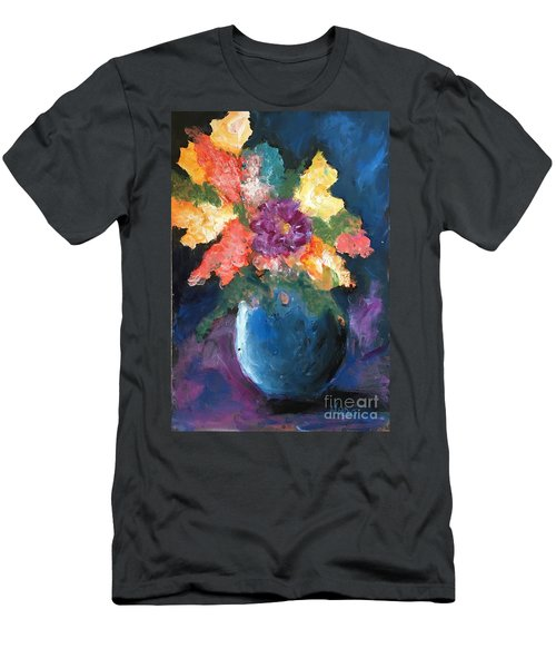Floral Study 1 Men's T-Shirt (Athletic Fit)