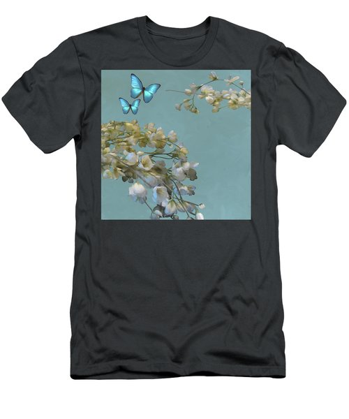 Floral04 Men's T-Shirt (Athletic Fit)