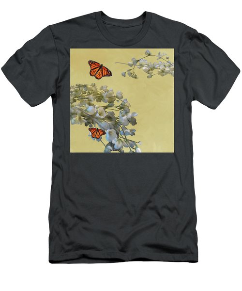 Floral05 Men's T-Shirt (Athletic Fit)