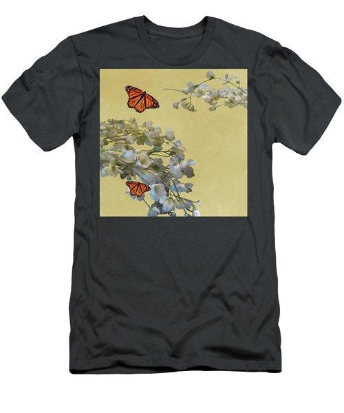 Floral05 Men's T-Shirt (Athletic Fit)