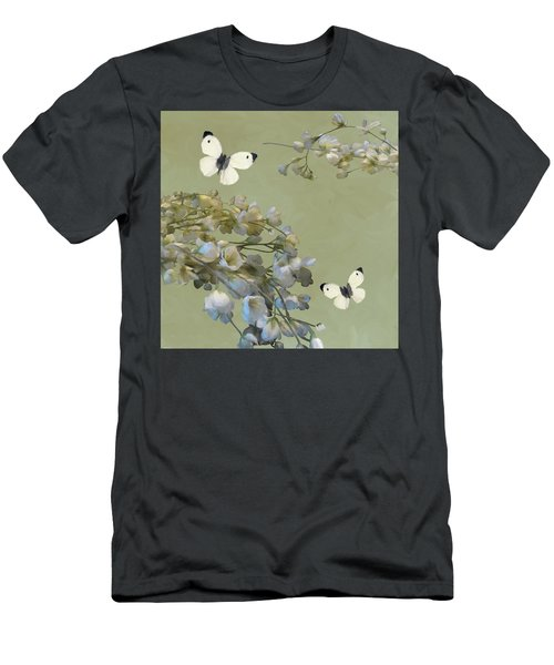 Floral07 Men's T-Shirt (Athletic Fit)