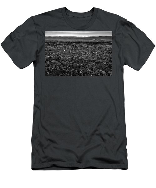 Men's T-Shirt (Slim Fit) featuring the photograph Florence From Fiesole by Sonny Marcyan