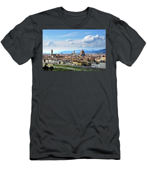 Florence, Italy Men's T-Shirt (Athletic Fit)