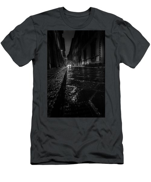 Men's T-Shirt (Slim Fit) featuring the photograph Florence Nights by Sonny Marcyan