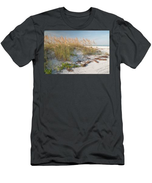 Florida Beach And Sea Oats Men's T-Shirt (Athletic Fit)