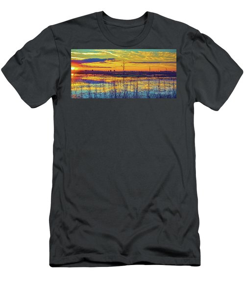 Florida Nature Paradise 2  Men's T-Shirt (Athletic Fit)