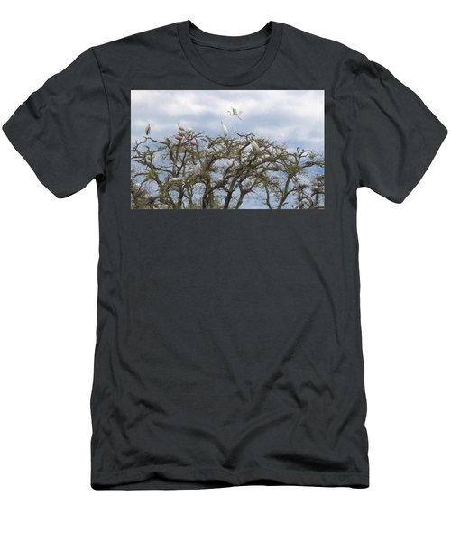 Florida Rookery Men's T-Shirt (Athletic Fit)