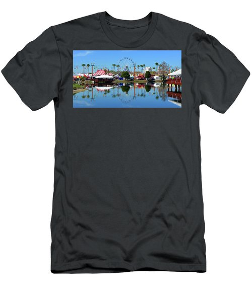 Men's T-Shirt (Slim Fit) featuring the photograph Florida State Fair 2017 by David Lee Thompson