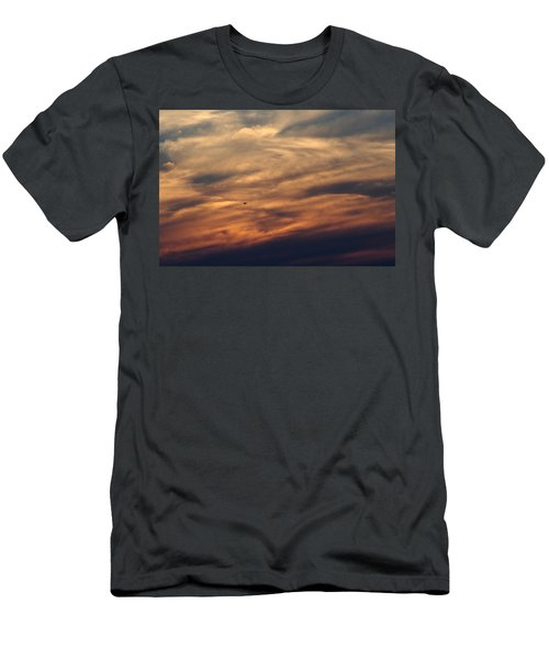 Florida Sunset 0052 Men's T-Shirt (Athletic Fit)