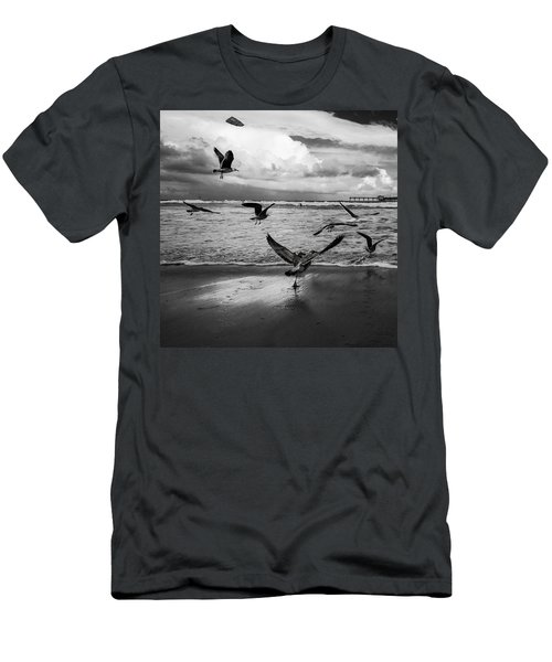 Men's T-Shirt (Slim Fit) featuring the photograph Flow by Ryan Weddle