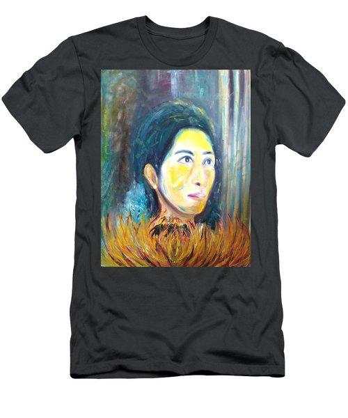 Flower Of Sun Men's T-Shirt (Athletic Fit)