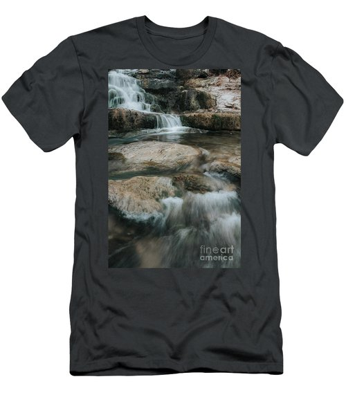 Men's T-Shirt (Slim Fit) featuring the photograph Flower Park by Iris Greenwell