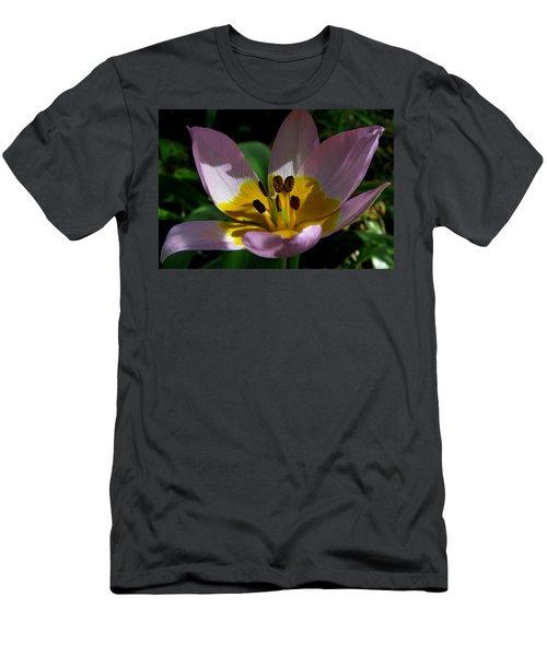 Flower Shadows Men's T-Shirt (Slim Fit) by John Topman