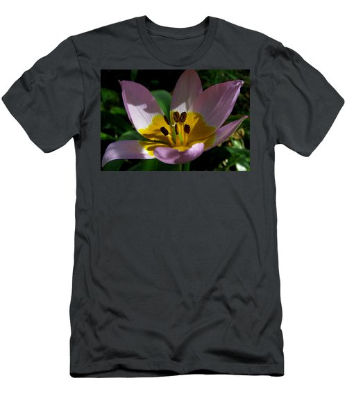 Flower Shadows Men's T-Shirt (Athletic Fit)