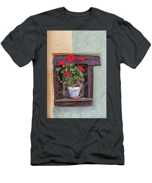 Men's T-Shirt (Slim Fit) featuring the photograph Flower Still Life by Alan Toepfer